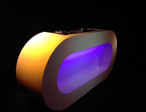 NIEUW: LED DJ Booth in de verhuur